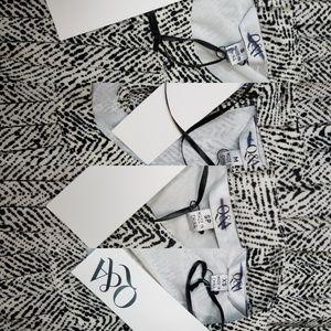 Q&A Tops -  (Stitchfix) NWT Q&A Printed Halter Swing Top